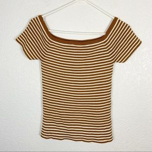 Madewell Striped Top Large